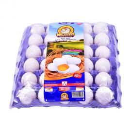 Amana Egg  White Large 30 Pieces