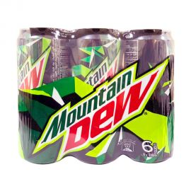 Mountain Dew 6x330mL Tin