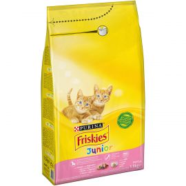 FRISKIES JUNIOR CAT CHICKEN & MILK& VEGETABLE 1.5KG