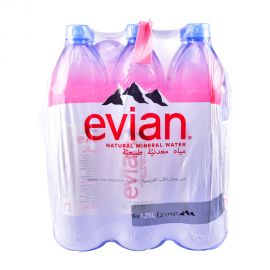 Evian Water 1.25lt Prestige (4+2Free)
