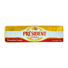 President Butter Unsalted 100g