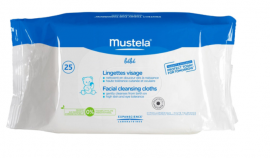 Mustela Cleansing Wipes 25's