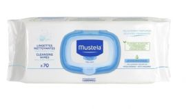 Mustela Cleansing Wipes 70's