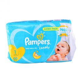 Pampers Newborn No1- 66 Pieces