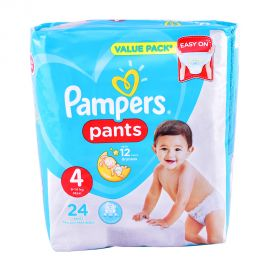 Pampers Pants Size4- 24 Pieces