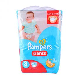 Pampers Pants Size3- 60Pieces