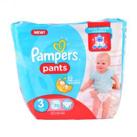 Pampers Pants Size3-26Pieces