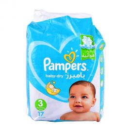 Pampers Ab Size3 -17Pieces