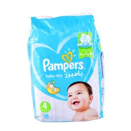 Pampers Ab Size 4 -16 Pieces