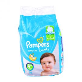 Pampers Ab Size 4-15 Pieces