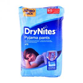 Huggies Drynites 8-15y Jumbo Boy-13 Pieces