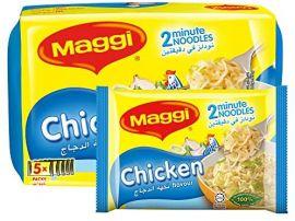 Maggi 2 Minute Chicken Noodles 5x77GM