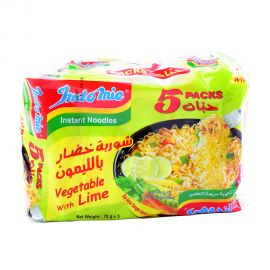 Indomie Noodles Vegetable With Lime 70gm