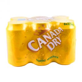 Canada Dry Tonic Water Tin 6x355ml