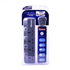 Oshtraco 4Way Extension Socket 2Mtr