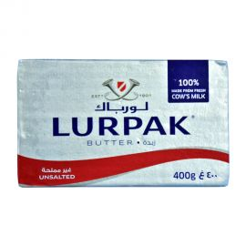 Lurpak Butter 400gm Unsalted