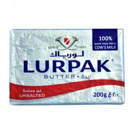 Lurpak Butter 200gm Unsalted