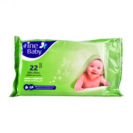 Fine Baby Wet Wipes 22's