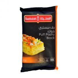 Sunbulah Puff Pastry Block 400gm