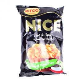 Kitco Nice Chips-Hot&Spicy 170gm