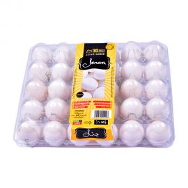 Jenan Egg White Large 30 Pieces