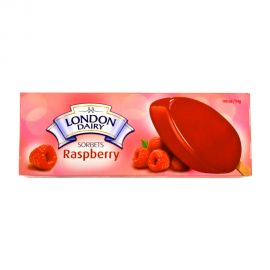 London Dairy Sorbet Raspberry 100ml