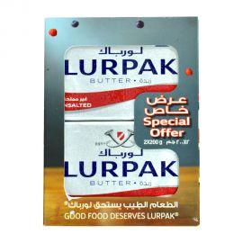 Lurpak Butter 2x200gm Unsalted 10%Off