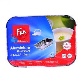 Fun Aluminium Container With Lid