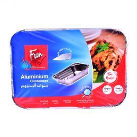 Fun Aluminium Container. With Lid