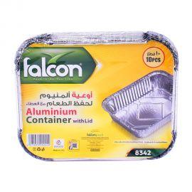 Falcon Aluminum Container 10p
