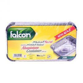 Falcon Aluminum Container 10P/208