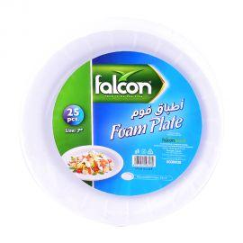 """Falcon Foam Plate 7"""" (25p)"""