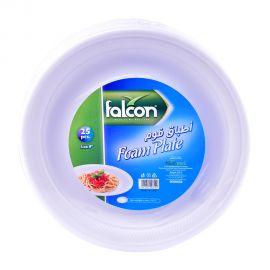 "Falcon Retail Foam Plate 9"" 25pc"
