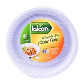 Falcon Plastic Plate 22cm(m 8) 25pc
