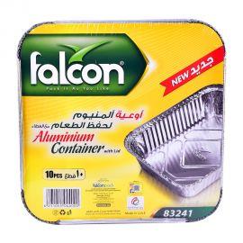 Falcon Aluminum Container Rectangular. 83241