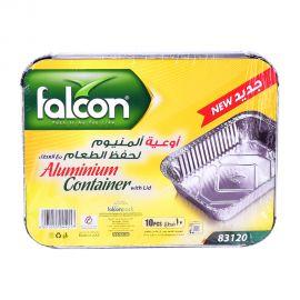Falcon Aluminum Container Rectangular