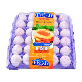 Farm Fresh EGG  White Medium 30 Pieces