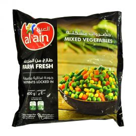 Al Ain Mixed Vegetables 400gm