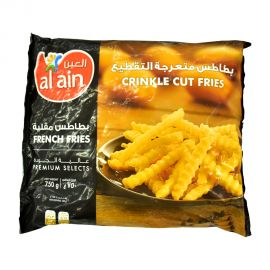 Al Ain French Fries Crinckle Cut 750gm