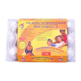 Al Jazira Egg (Dha Omega 3)15 Pieces