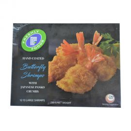 Freshly foods hand coated Butterfly Shrimps 250gm