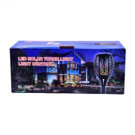 Campmate Solar Flaming Garden Lamp