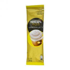 Nescafe Gold Vanilla Latte Instant Foaming Coffee Mix Stick 18.5gm