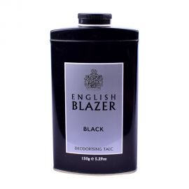 English Blazer Black Talc 150gm