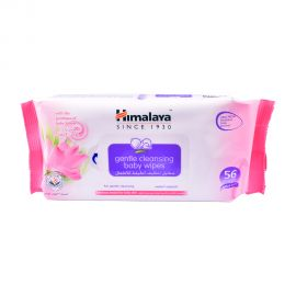 Himalaya Gentel Cleansing Baby Wipes 56s