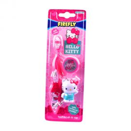 Hello Kitty - Toothbrush With Cap and Toy - Pink