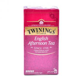 Twinings G/line English Afternoon Tea bags 25's