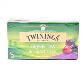 Twinings Green Tea And Forest Fruits 1.5g Pack Of 25 Teabags