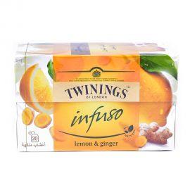 Twinings Infuso Lemon & Ginger  20's
