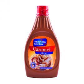 American Garden Caramel Syrup 24oz